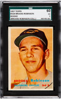 Baseball Collectibles:Others, 1957 Topps Brooks Robinson Rookie #328 from The Brooks RobinsonCollection....