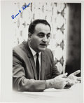 Autographs:Celebrities, NASA Marshall Space Flight Center Director Rocco Petrone SignedPhoto. ...