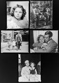 """Movie Posters:Miscellaneous, Shirley Temple in The Little Princess & Others Lot (20th Century Fox, 1939). Eastman Kodak Nitrate Negative (8"""" X 9""""), R... (Total: 6 Items)"""