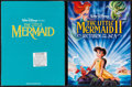 """Movie Posters:Animation, The Little Mermaid and Other Lot (Buena Vista, 1989). Presskits With Photos (2) (Multiple Pages, (9"""" X 12""""). Animation.. ... (Total: 2 Items)"""