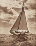 Photographs:Gelatin Silver, Morris Rosenfeld (American, 1885-1968). Sailboats (two works), circa 1930s. Gelatin silver. 19-1/2 x 15-1/2 inches (49.5... (Total: 2 )