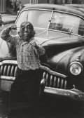 Photographs, Yasuhiro Ishimoto (American, 1921-2012). Untitled (Boy with Car), circa 1960. Gelatin silver, printed later. 11 x 7-7/8 ...