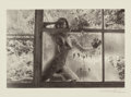 Photographs:Gelatin Silver, Lucien Clergue (French, b. 1934). Nu aux vitres brisees, la gal combe, 1993. Gelatin silver. 9-1/4 x 11 inches (23.6 x 2...