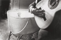 Ralph Gibson (American, b. 1939) Untitled (Man with Guitar), 1963 Gelatin silver, printed later 8