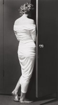 Photographs, Philippe Halsman (American, 1906-1979). Marilyn Monroe entering the closet, 1952. Gelatin silver, 1981. 12-7/8 x 7-1/8 i...