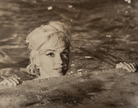 "Lawrence Schiller (American, b. 1936) Marilyn Swimming, from ""Something's Got to Give,"" 1962 Gelatin"