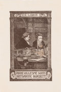 Books:Americana & American History, [Bookplates]. Bookplates of Famous Partners. [Britain, early tomid-19th C.]....