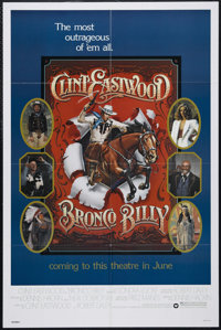 """Bronco Billy (Warner Brothers, 1980). One Sheet (27"""" X 41""""). Comedy. Directed by Clint Eastwood. Starring East..."""