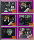 "Movie Posters:Crime, Bullitt (Warner Brothers, 1968). Lobby Cards (6) (11"" X 14"").Detective. Directed by Peter Yates. Starring Steve McQueen, Ro...(Total: 6 Items)"