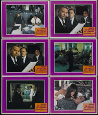 """Bullitt (Warner Brothers, 1968). Lobby Cards (6) (11"""" X 14""""). Detective. Directed by Peter Yates. Starring Ste..."""