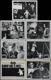 """Bunny Lake is Missing (Columbia, 1965). Title Card and 6 Lobby Cards (11"""" X 14""""). Mystery. Directed by Otto Pr..."""