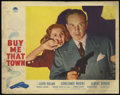 """Movie Posters:Comedy, Buy Me That Town (Paramount, 1941). Lobby Cards (2) (11"""" X 14""""). Comedy. Directed by Eugene Forde. Starring Lloyd Nolan, Con... (Total: 2 Items)"""
