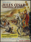 "Movie Posters:Adventure, Caesar the Conqueror (Medallion, 1963). French Grande (47"" X 63"").Historical Epic. Directed by Amerigo Anton. Starring Came..."
