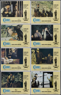 "Cahill U. S. Marshal (Warner Brothers, 1973). Lobby Card Set of 8 (11"" X 14""). Western. Directed by Andrew V..."