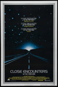 """Movie Posters:Science Fiction, Close Encounters of the Third Kind (Columbia, 1977). One Sheet (27"""" X 41""""). Sci-Fi. Directed by Steven Spielberg. Starring R..."""