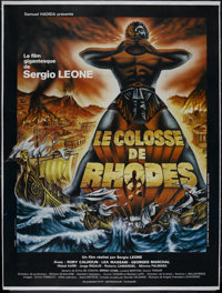 "The Colossus of Rhodes (MGM, 1961). French Grande (47"" X 61""). Adventure. Directed by Sergio Leone. Starring R..."