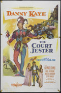 """Movie Posters:Comedy, Court Jester (Paramount, 1955). One Sheet (27"""" X 41""""). Comedy. Directed by Melvin Frank and Norman Panama. Starring Danny Ka..."""