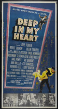 "Movie Posters:Musical, Deep in My Heart (MGM, 1954). Three Sheet (41"" X 81""). Musical Biography. Directed by Stanley Donen. Starring Jose Ferrer, H..."
