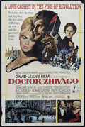 """Movie Posters:Drama, Dr. Zhivago (MGM, 1965). One Sheet (27"""" X 41""""). Romantic Epic. Directed by David Lean. Starring Omar Sharif, Julie Christie,..."""
