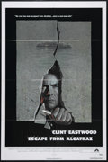 """Movie Posters:Thriller, Escape from Alcatraz (Paramount, 1979). One Sheet (27"""" X 41""""). Action. Directed by Don Siegel. Starring Clint Eastwood, Patr..."""