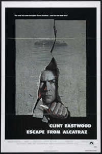"Escape from Alcatraz (Paramount, 1979). One Sheet (27"" X 41""). Action. Directed by Don Siegel. Starring Clint..."