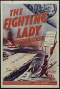 "Movie Posters:Documentary, The Fighting Lady (20th Century Fox, 1944). One Sheet (27"" X 41""). War Documentary. Directed by William Wyler. Narrated by R..."