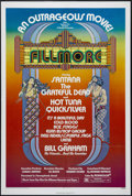 "Movie Posters:Documentary, Fillmore (20th Century Fox, 1972). One Sheet (27"" X 41""). Rock Documentary. Directed by Richard T. Heffron. Starring Bill Gr..."