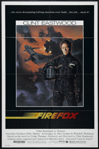 """Firefox (Warner Brothers, 1982). One Sheet (27"""" X 41""""). Action. Directed by Clint Eastwood. Starring Eastwood..."""