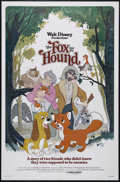 "Movie Posters:Animated, The Fox and the Hound (Buena Vista, 1981). One Sheet (27"" X 41"").Animated. Directed by Art Stevens, Ted Berman, Richard Ric..."