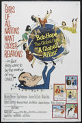 "Movie Posters:Comedy, A Global Affair (MGM, 1964). One Sheet (27"" X 41""). Comedy. Directed by Jack Arnold. Starring Bob Hope, Lilo Pulver, Michele..."
