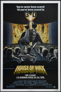 """Movie Posters:Horror, House of Wax (Warner Brothers, R-1981). One Sheet (27"""" X 41""""). Horror. Directed by André De Toth. Starring Vincent Price, Fr..."""