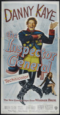 """Movie Posters:Comedy, The Inspector General (Warner Brothers, 1950). Three Sheet (41"""" X 81""""). Musical Comedy. Directed by Henry Koster. Starring D..."""
