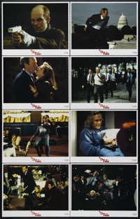 """In the Line of Fire (Columbia, 1993). Lobby Card Set of 8 (11"""" X 14""""). Action. Directed by Wolfgang Petersen..."""