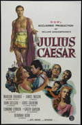 "Movie Posters:Drama, Julius Caesar (MGM, 1953). One Sheet (27"" X 41""). Historical Epic. Directed by Joseph L. Mankiewicz. Starring Marlon Brando,..."