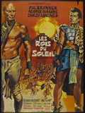 "Movie Posters:Adventure, Kings of the Sun (United Artists, 1963). French Grande (45"" X61.5""). Historical Adventure. Directed by J. Lee Thompson. Sta..."