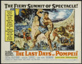 "Movie Posters:Adventure, The Last Days of Pompeii (United Artists, 1960). Half Sheet (22"" X28""). Sword and Sandal Adventure. Directed by Mario Bonna..."