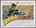 "Movie Posters:Adventure, Luana (Capital Productions, 1973). Half Sheet (22"" X 28"").Adventure. Directed by Bob Raymond. Starring Glenn Saxon, EviMar..."