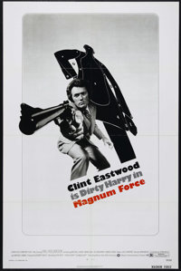 """Magnum Force (Warner Brothers, 1973). One Sheet (27"""" X 41""""). Action. Directed by Ted Post. Starring Clint East..."""