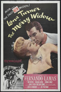 "Movie Posters:Musical, The Merry Widow (MGM, 1952). One Sheet (27"" X 41""). Drama. Directed by Curtis Bernhardt. Starring Lana Turner, Fernando Lama..."
