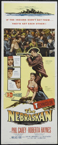 "Movie Posters:Western, The Nebraskan (Columbia, 1953). Insert (14"" X 36""). Western. Directed by Harry L. Fraser and Fred Sears. Starring Philip Car..."
