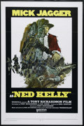 """Movie Posters:Western, Ned Kelly (United Artists, 1970). One Sheet (27"""" X 41""""). Western. Directed by Tony Richardson. Starring Mick Jagger, Clariss..."""