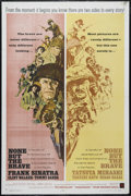 "Movie Posters:War, None But the Brave (Warner Brothers, 1965). One Sheet (27"" X 41"").War. Directed by Frank Sinatra. Starring Sinatra, Clint W..."
