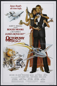 """Octopussy (MGM-UA, 1982). One Sheet (27"""" X 41""""). Action. Directed by John Glen. Starring Roger Moore, Maud Ada..."""