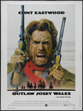 """The Outlaw Josey Wales (Warner Brothers, 1976). Poster (30"""" X 40""""). Western. Directed by Clint Eastwood. Starr..."""