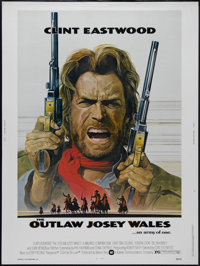 "The Outlaw Josey Wales (Warner Brothers, 1976). Poster (30"" X 40""). Western. Directed by Clint Eastwood. Starr..."