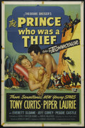 "Movie Posters:Adventure, The Prince Who Was a Thief (Universal, 1951). One Sheet (27"" X41""). Adventure. Directed by Rudolph Mate. Starring Tony Curt..."