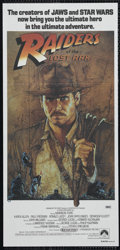 """Movie Posters:Adventure, Raiders of the Lost Ark (Paramount, 1981). Australian Daybill (13"""" X 30""""). Adventure. Directed by Steven Spielberg. Starring..."""