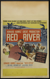 "Red River (United Artists, 1948). Window Card (14"" X 22""). Western. Directed by Howard Hawks. Starring John Wa..."