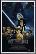 "Movie Posters:Science Fiction, Return of the Jedi (20th Century Fox, 1983). One Sheet (27"" X 41""). Style B International. Science Fiction. Directed by Rich..."