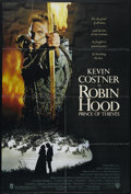 "Movie Posters:Adventure, Robin Hood: Prince of Thieves (Warner Brothers, 1991). One Sheet(27"" X 41""). Adventure. Directed by Kevin Reynolds. Starrin..."